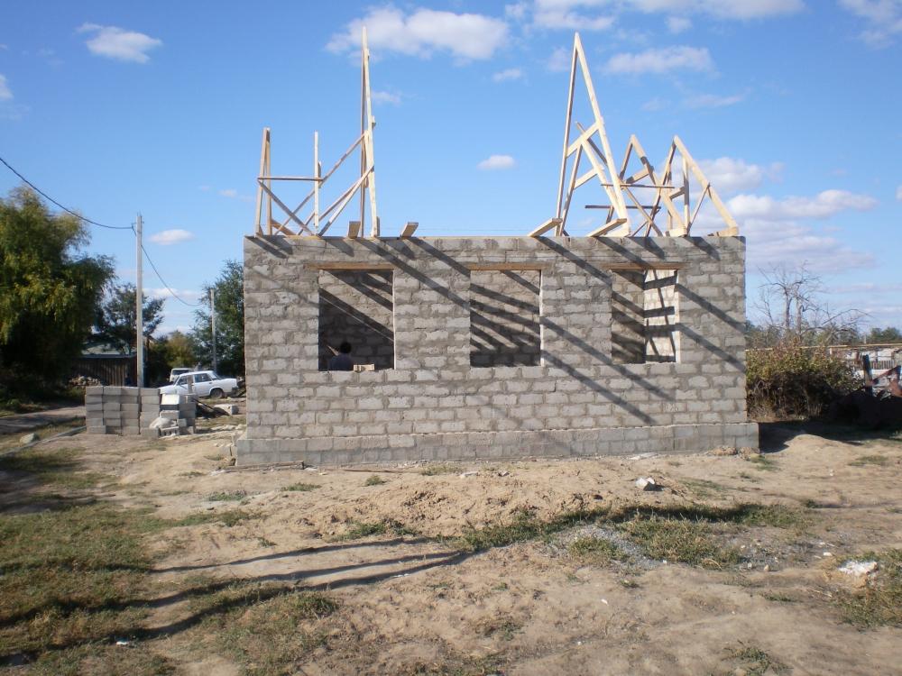 Возведение Часовни в селе Савинка 12.10.2012 год