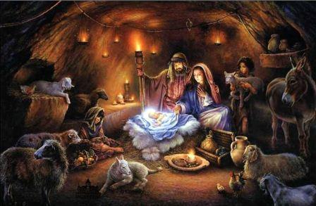 Он родился в пещере и был положен в ясли, куда кладут корм для животных.