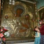 Старорусская икона Богоматери