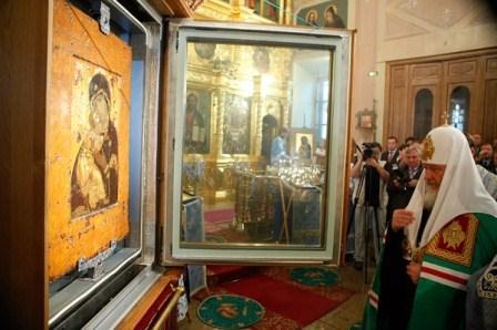 Владимирская икона Начало государства Российского